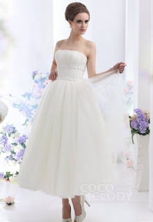 http://www.cocomelody.com/a-line-ivory-ankle-length-strapless-tulle-wedding-dress-cwza13001.html