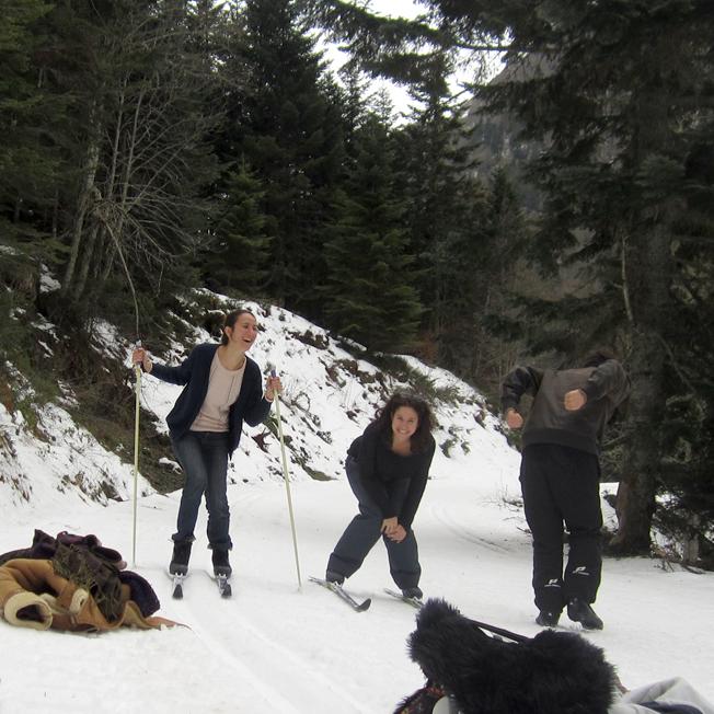 ski de fond au Val d'Azun - http://spicerabbits.blogspot.fr/