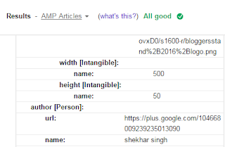 fixed resolved publisher missing and required error in google structure data testing tool