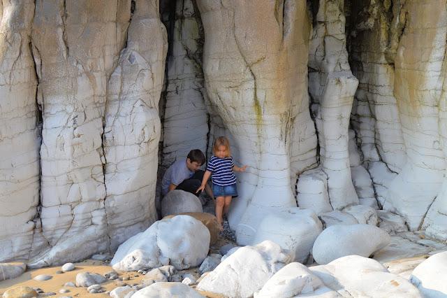 Limestone Rocks Pendine Sands