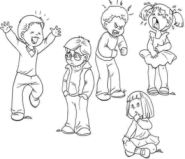 Dibujos Emociones Colorear | www.imagenesmy.com