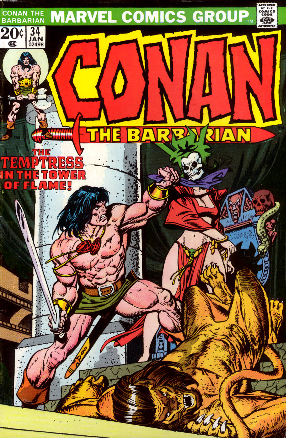 Conan the Barbarian (1970) 34 Page 1