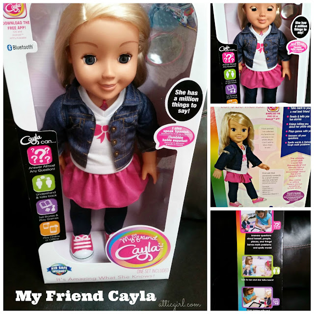 "My Friend Cayla 18"" talking doll"