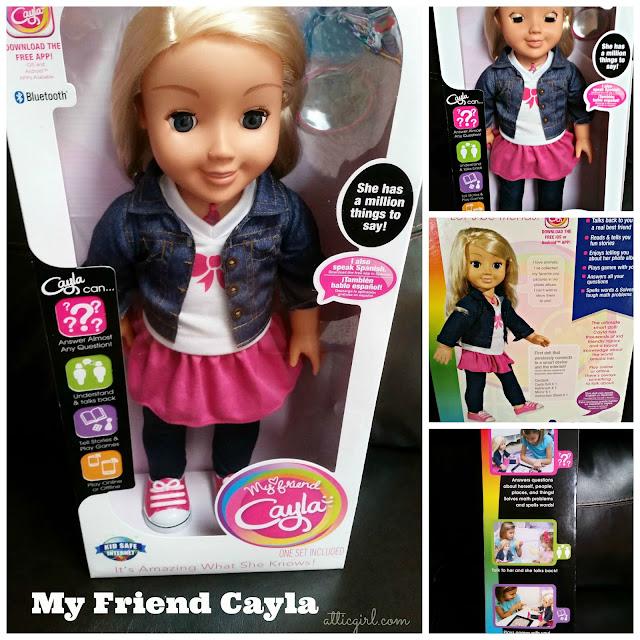 """My Friend Cayla 18"""" talking doll"""