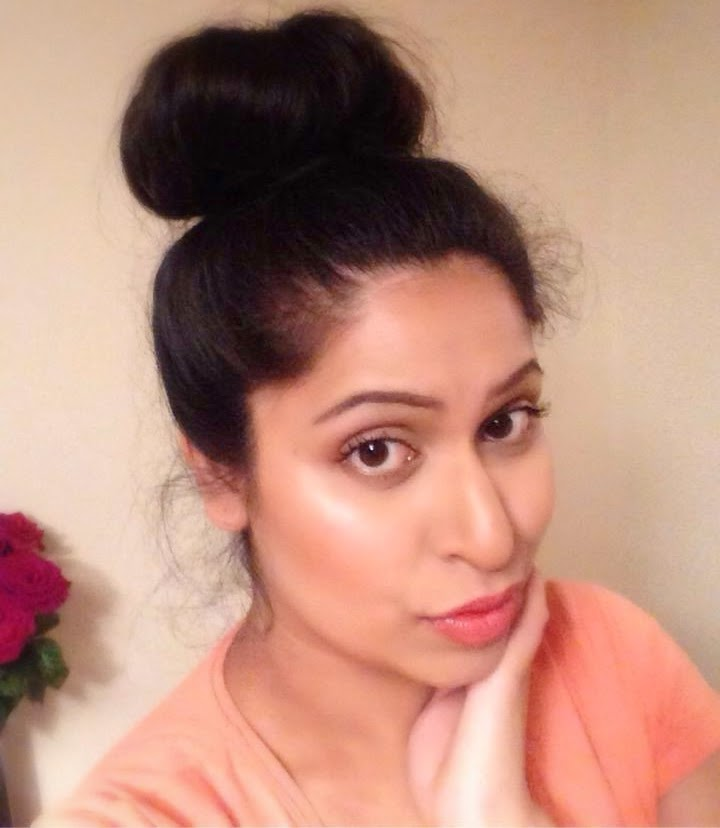 Weekend Glowing look with Hair do