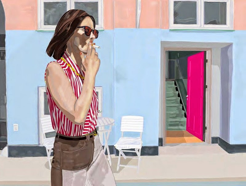 Lifestyle Illustrations by Mario Sughi