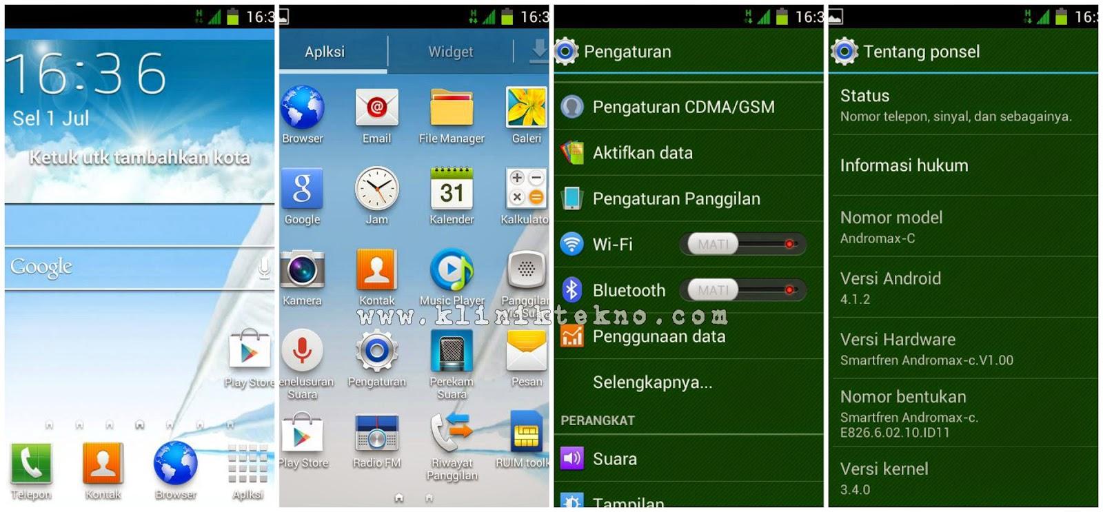 Update Custom Rom Samsung Galaxy S4 For Andromax G AD687G