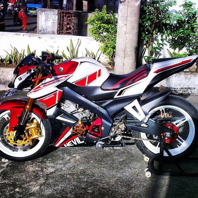 Modifikasi Yamaha Vixion 2013