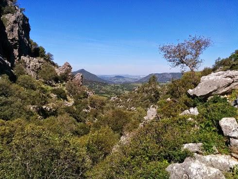 """Vistas en la ruta """"Ojo del Moro"""""""