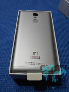 Xiaomi Redmi Note 3 Indonesia - Unboxed, Bagian belakang metal + fingerprint sensor