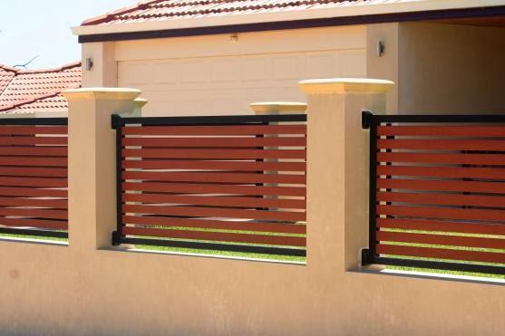 Rekabentuk Pagar Rumah Teres | Bayani Home Renovation