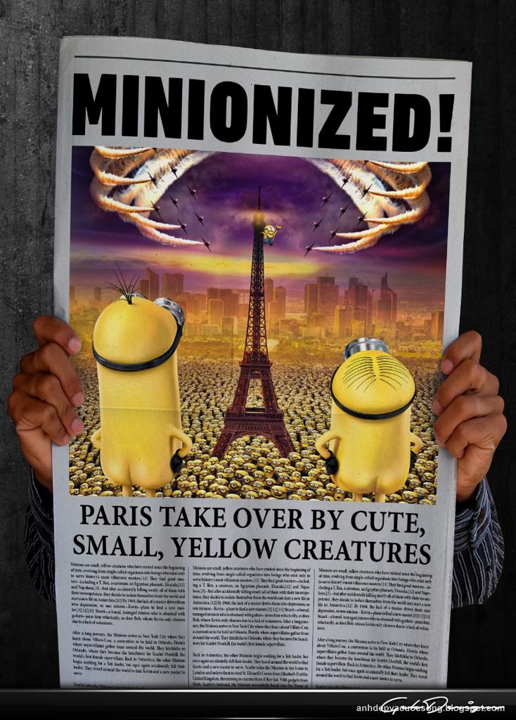 Ảnh những chú Minions nổi loạn