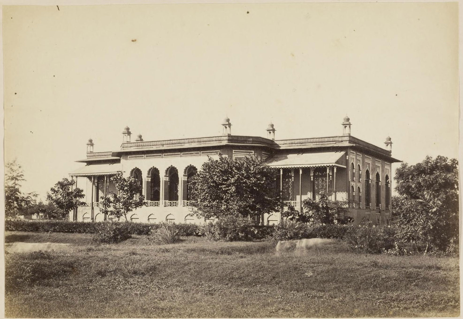 Lal Baradari Palace Lucknow C1870 39 S Old Indian Photos