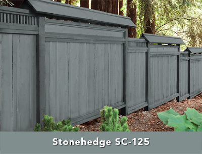 Wink interiors front porch makeover Best exterior stain for cedar fence