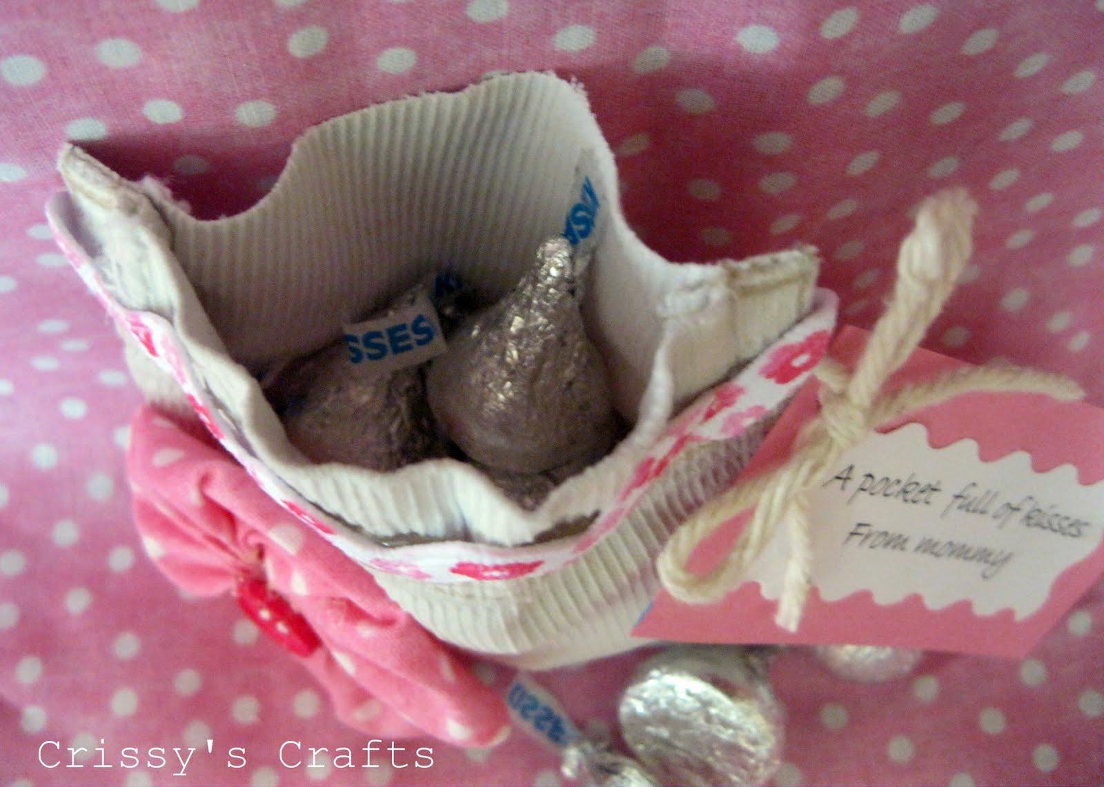 Crissy's Crafts: A Pocket Full of Kisses
