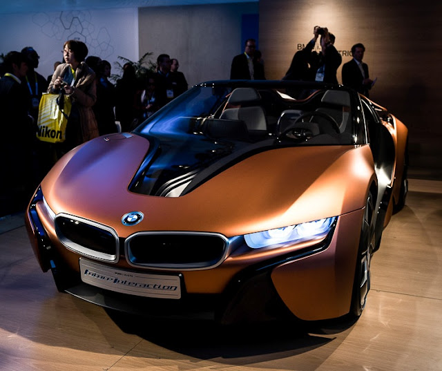 Pictorial View Of BMW I Vision Future Interaction 2016