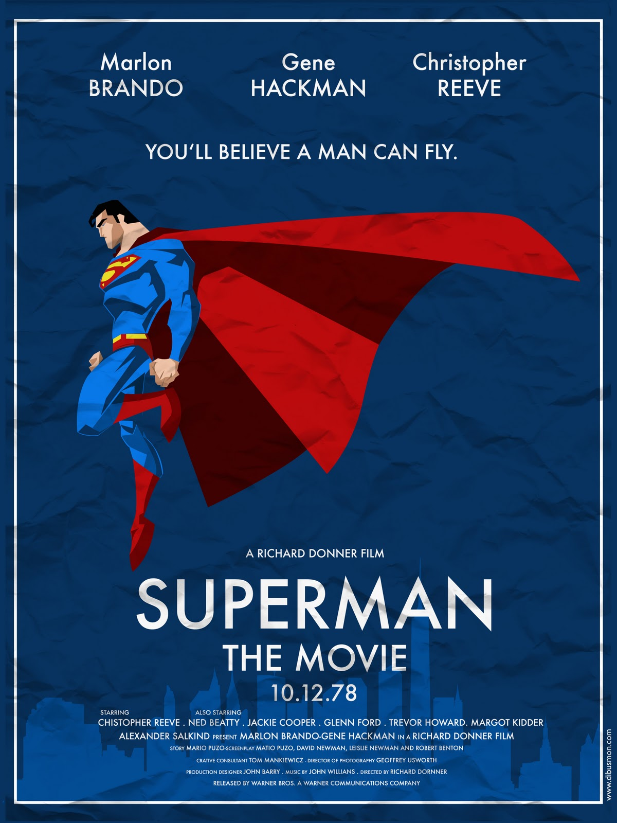 alternative 1978 superman movie poster. | Movies | Pinterest
