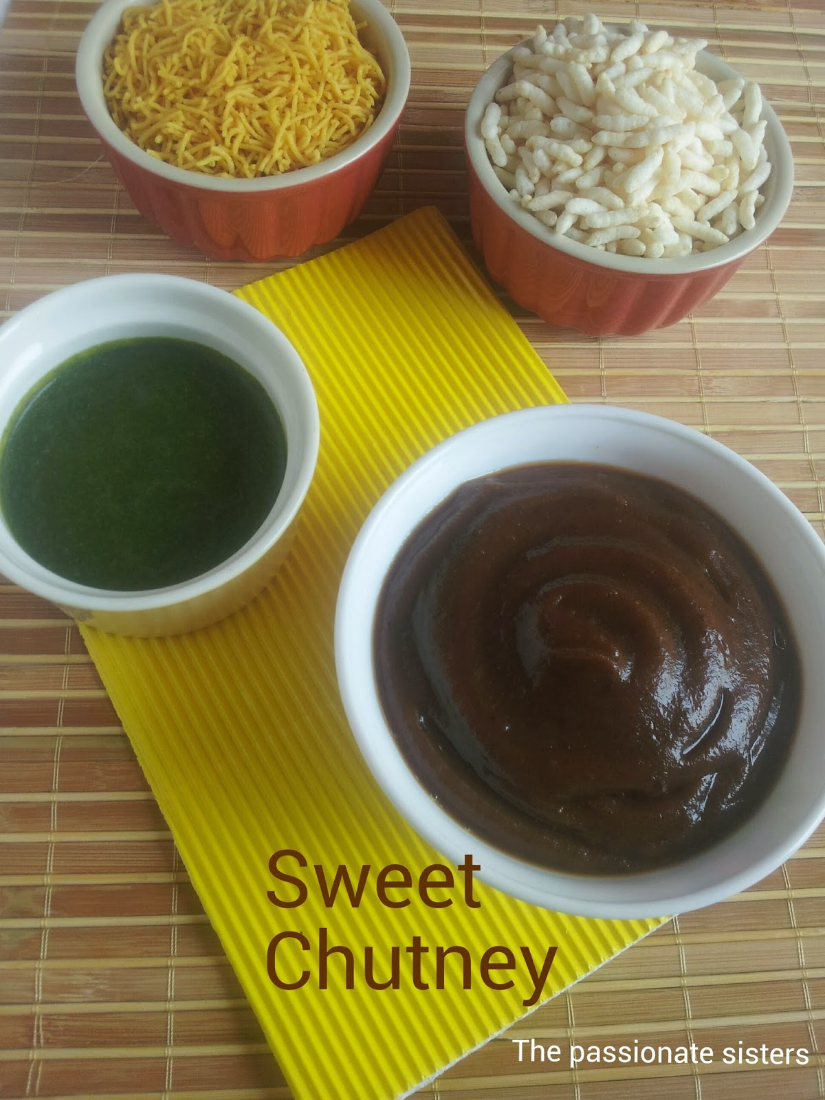 Sweet Tamarind and Dates Chutney
