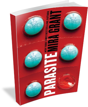 Book Cover Parasite by Mira Grant