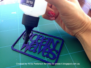 X-Press IT Clear Gel Glue makes an excellent glossy coat.