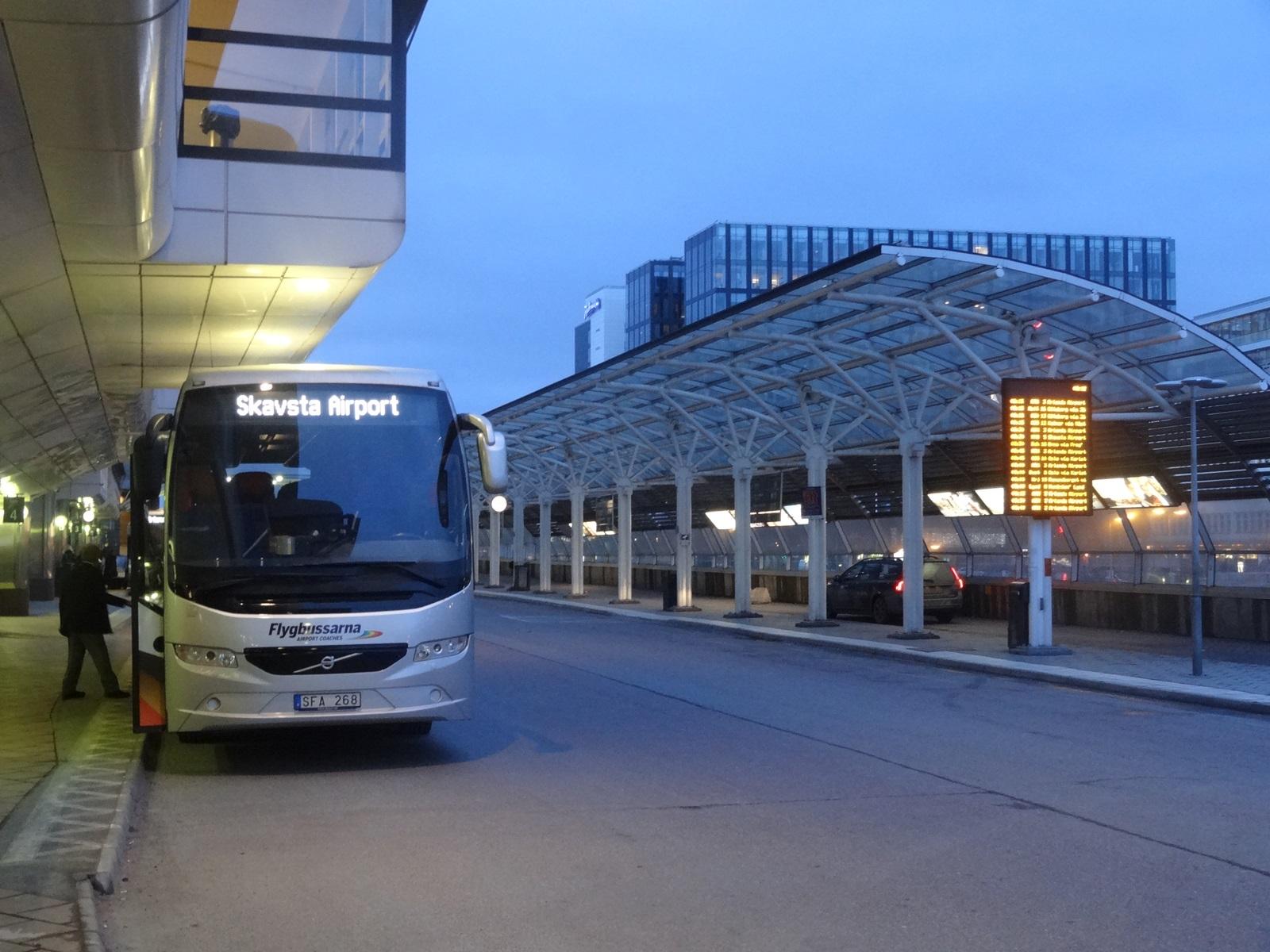 31 sztokholm przystanek Flygbussarna i hotel Radisson Blu Waterfront
