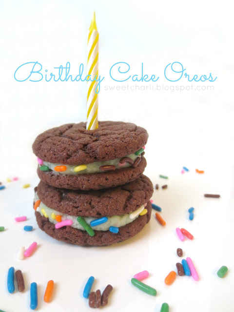 cake-batter recipe is here! Birthday Cake Oreos! Remember when Nabisco ...