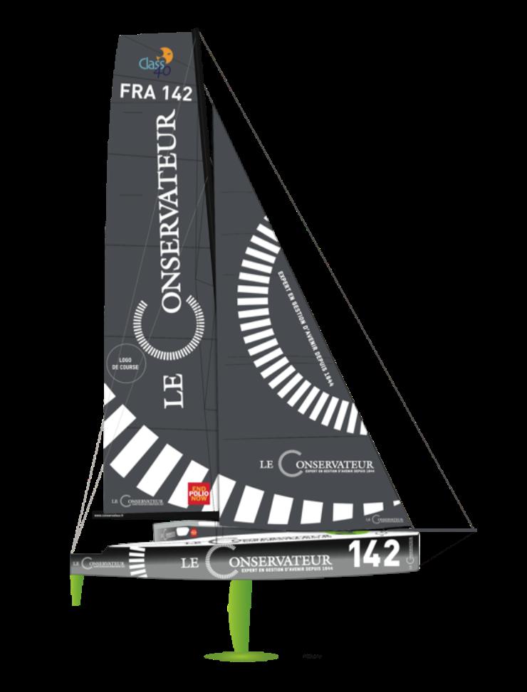 Le Tizh 40 de Yannick Bestaven bientot à l'eau.
