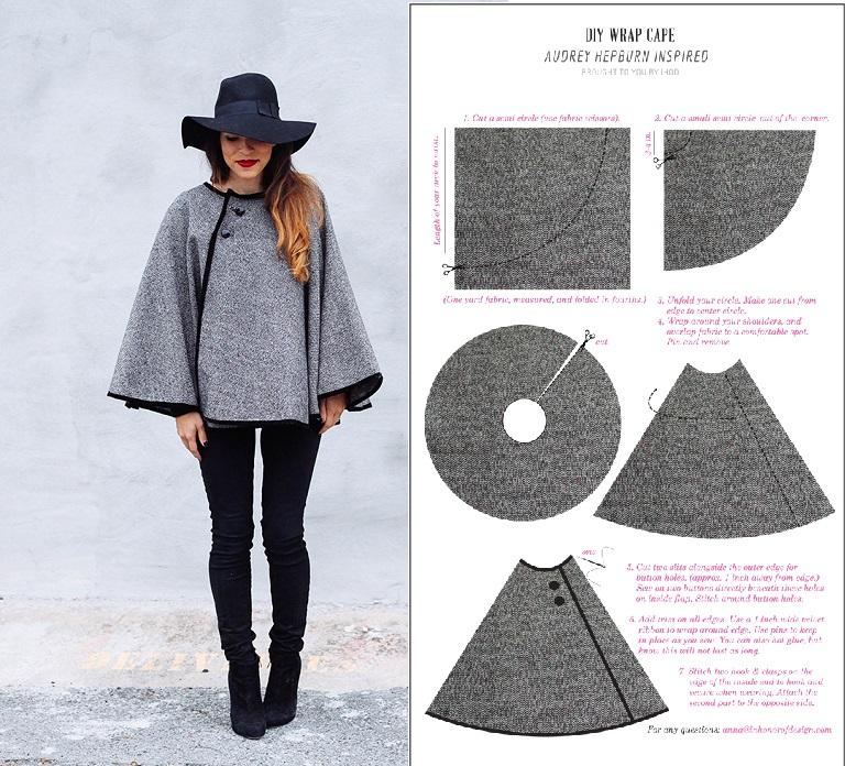 Diy 15 id es de couture saison automne hiver bettinael passion couture made in france - Idee de couture facile ...