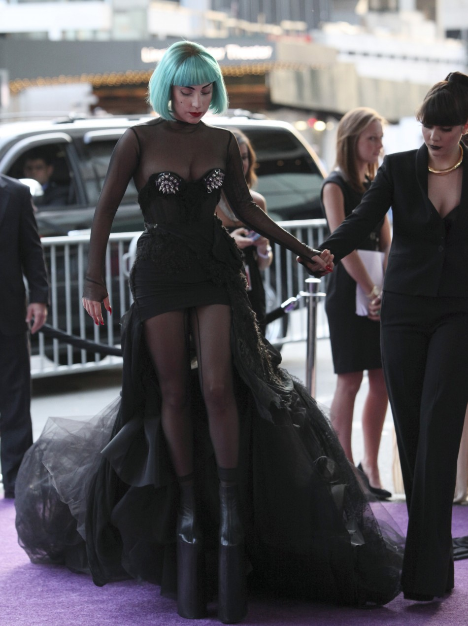 Lady Gaga Needs Help Walking