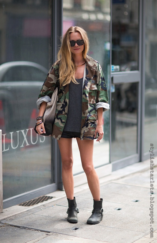 Hot Trend Camouflage Prints Stylish Starlets
