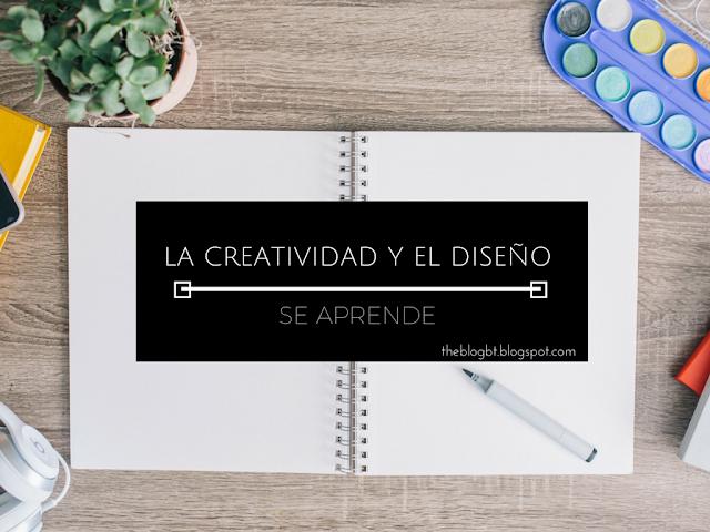 la creatividad y el diseño se aprenden