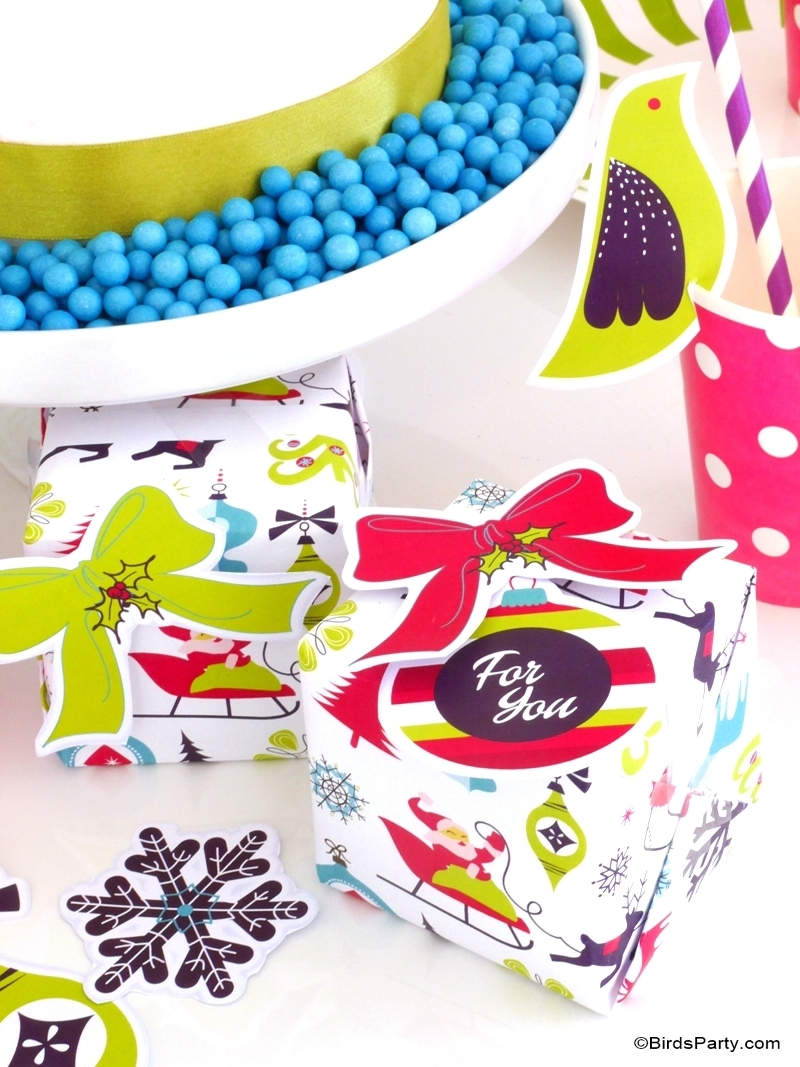 Décoration de Noël DIY et Freebies!
