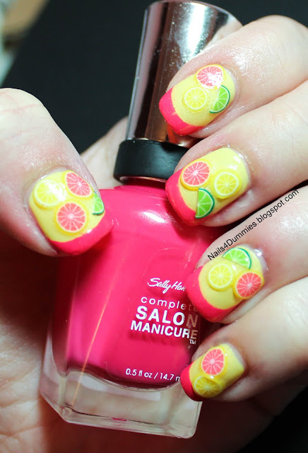 Citrus Punch mani