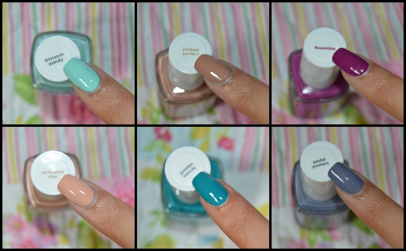 Sweetfaction: SWATCHES COLECCIÓN PRIMAVERA 2015 DE ESSIE