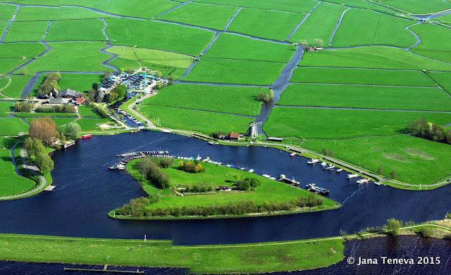 De Kaag Aerial view