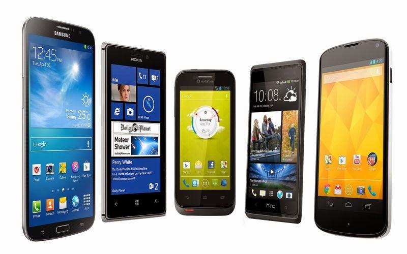 3 Smartphone Canggih Di Tahun Baru 2015