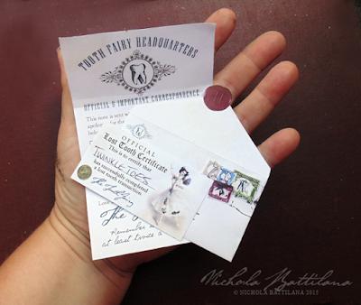 Tooth Fairy Letters - Nichola Battilana