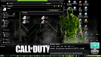 THEME WIDOWS 7 CALL OF DUTTY