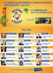 22º CONGRESSO NACIONAL DA APEC - 03 a 06 de dezembro de 2015