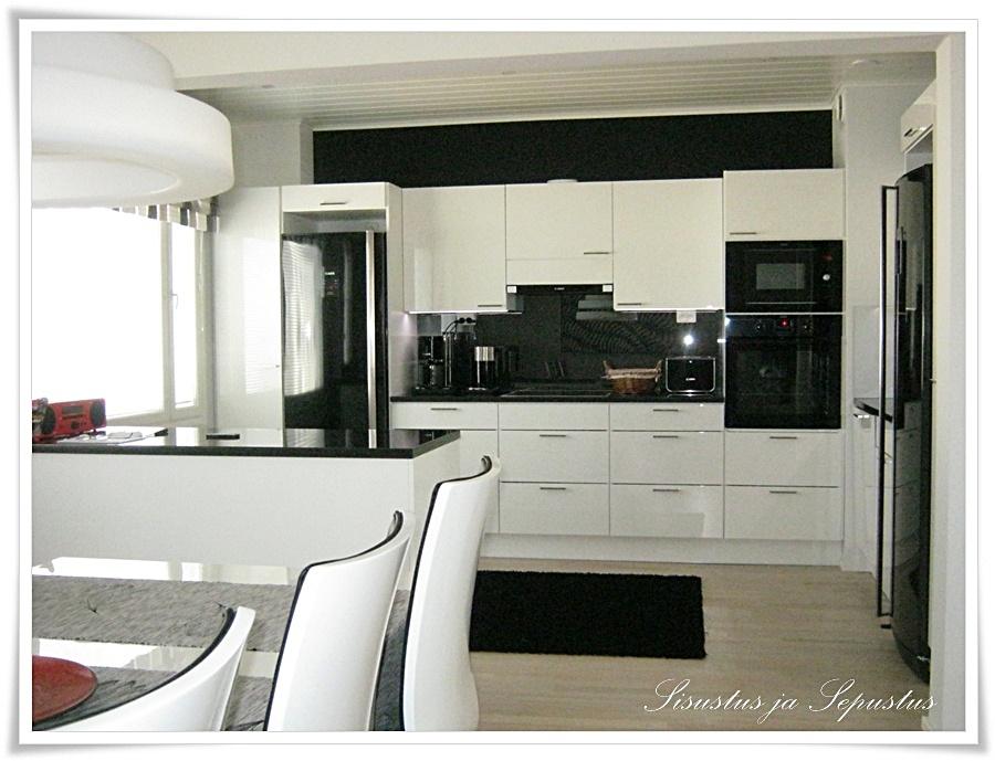 Sisustus ja Sepustus Kaunis suunnittelemani koti valmiina