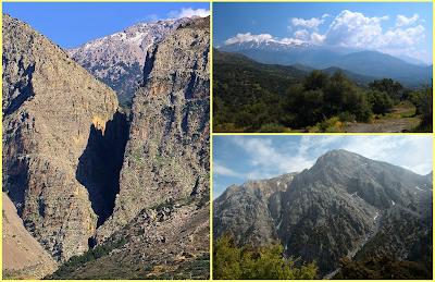 Léfka Óri, el monte Psiloritis y la garganta Ha
