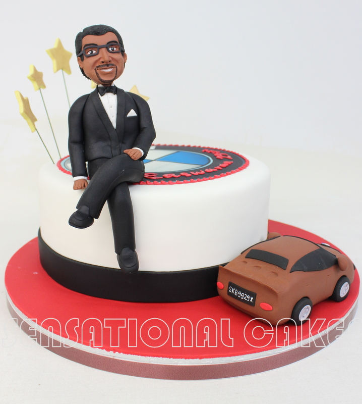 The Sensational Cakes Bmw 5 Series 3d Cake For A Boss Boss Cake