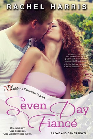 Love and Games - Book Cover - Seven Day Fiance - Rachel Harris
