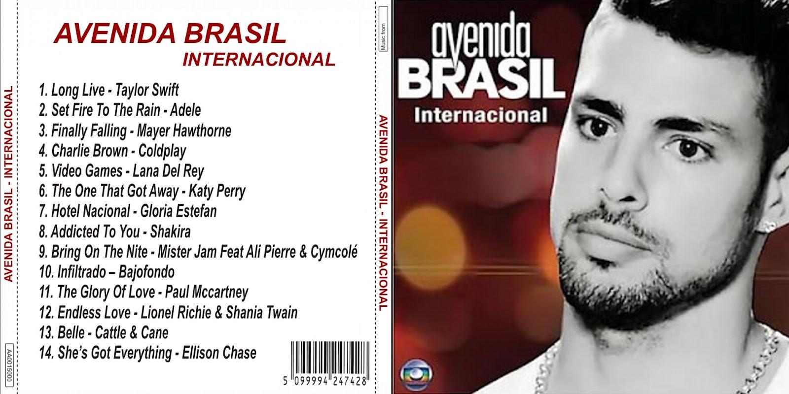 CD AVENIDA BRASIL - INTERNACIONAL (NÃO OFICIAL) (2012)