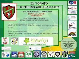 IX TORNEO BENÉFICO IBAILAKUA