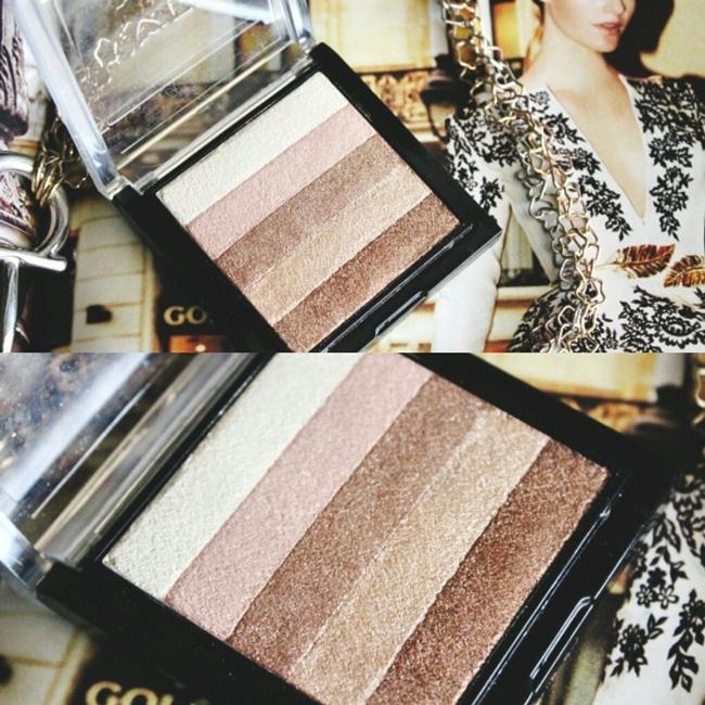 "Instagram @lelazivanovic.Famous by Sue Moxley ""Shimmer brick"" in Light. Bobbi Borwn Shimmer brick dupes."