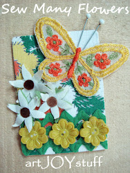 Sew Many Flowers ATC Swap 2012