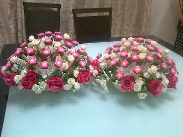 Colat Bunga Meja Pengantin
