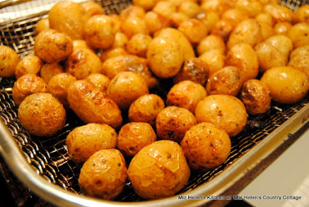 Grilled Spring Potatoes