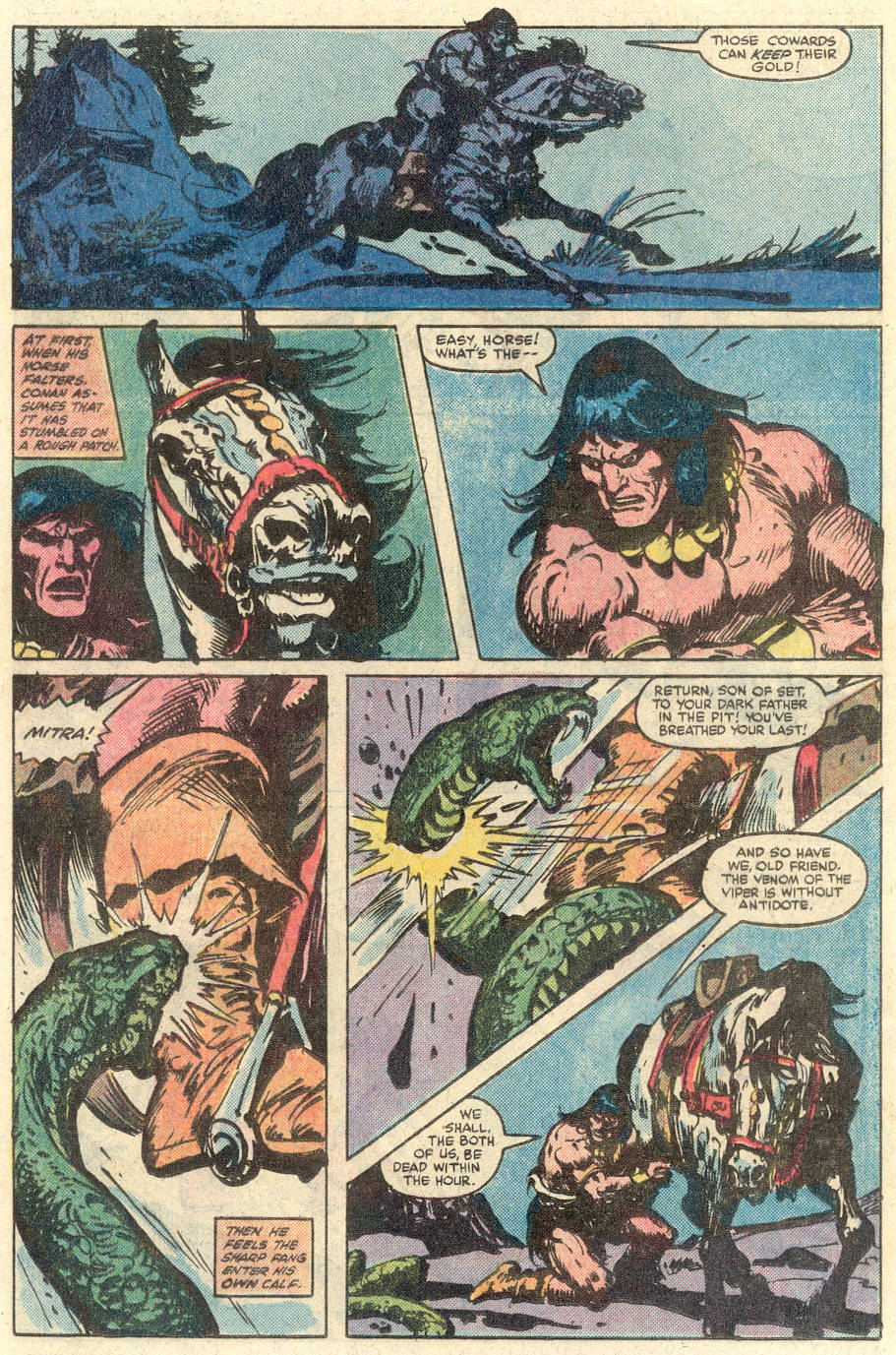 Conan the Barbarian (1970) Issue #134 #146 - English 10